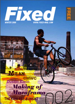 Fixed Magazine, Issue n°2 Hiver 08