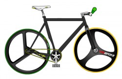 PedalMafia, customisation de fixie