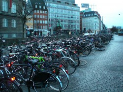 Parking à vélo à Copenhague