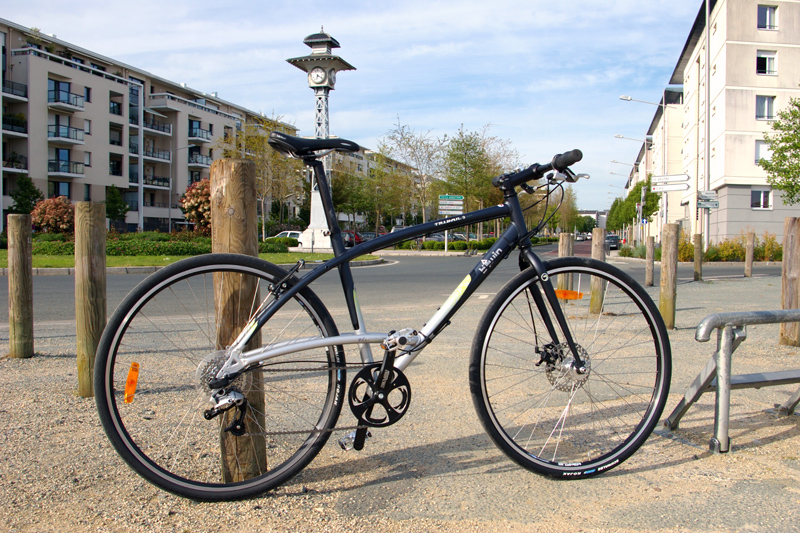 Test btwin triban road 5 for Triban 300