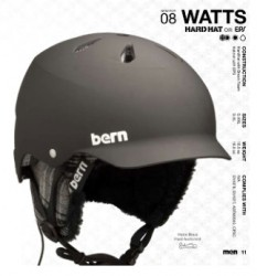 Test casque Bern, Watts