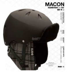 Test casque Bern, Macon