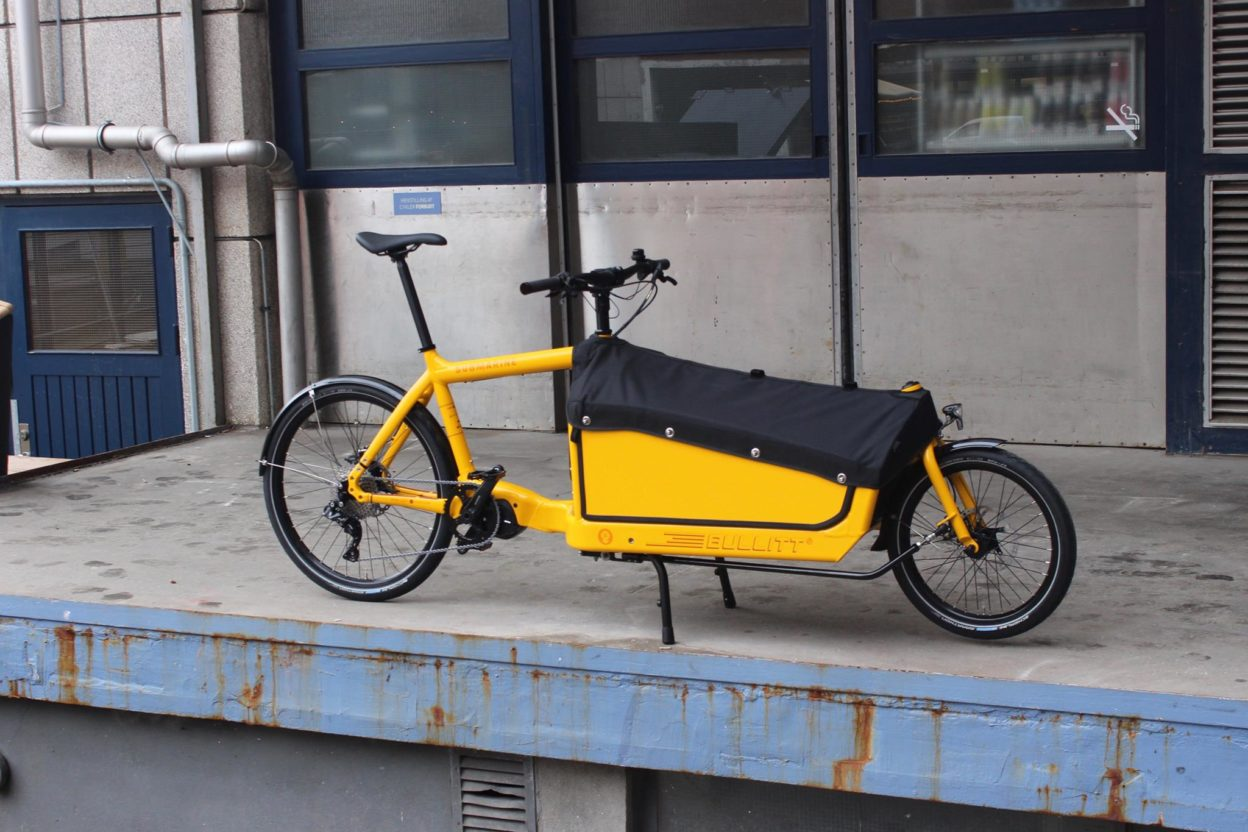 Bullitt by Larry vs Harry, le Cargo Bike revisité
