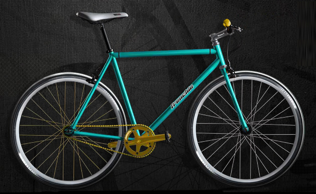 Atom Bicycle, customise ton fixie Frenchie