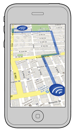 SocialBicycles Map Mobile