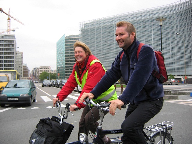 Bruxelles, the bike experience