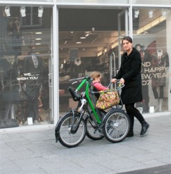 Feetz Shopcycle ou le tricycle utilitaire
