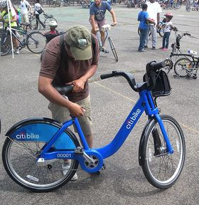 Velo Citibike NYC