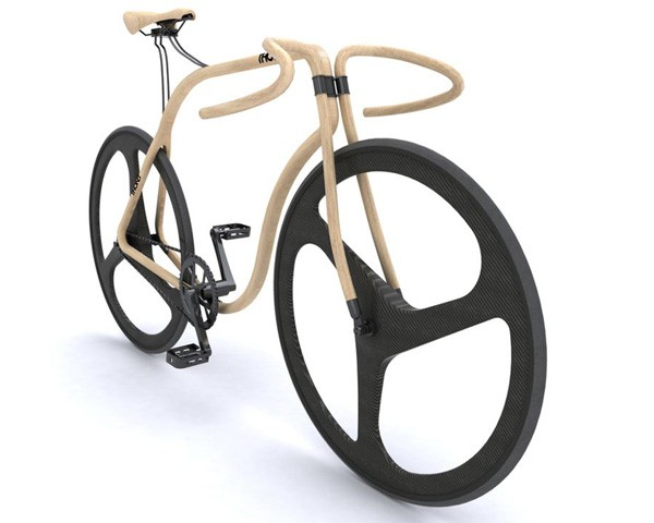 Fixie Bois Thonet Design Velo