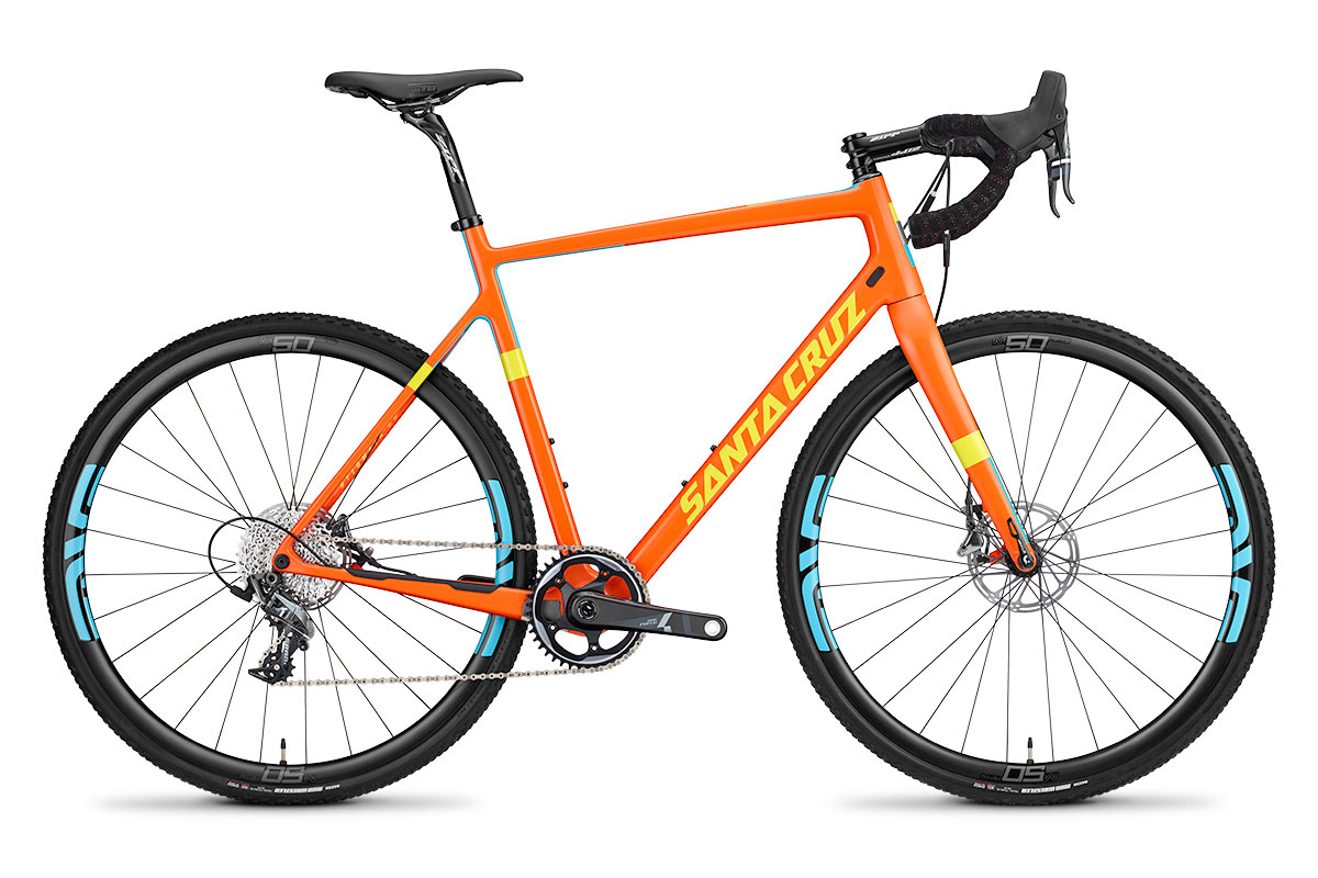 2015 Santa Cruz Stigmata Orange Profile