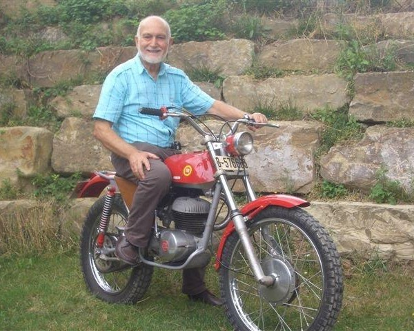 Pere Pi On A Montesa 250 Trial 1968 2011