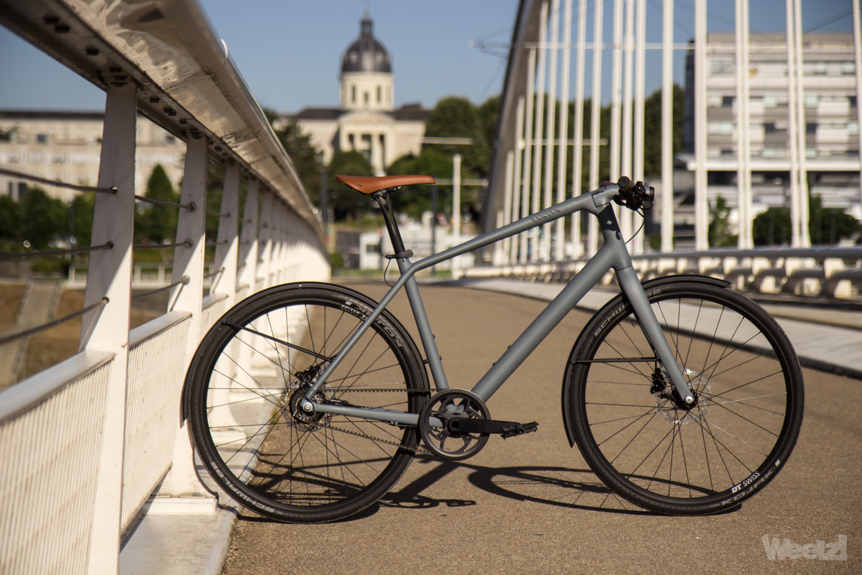 Weelz Test Velo Urbain Canyon Commuter 2