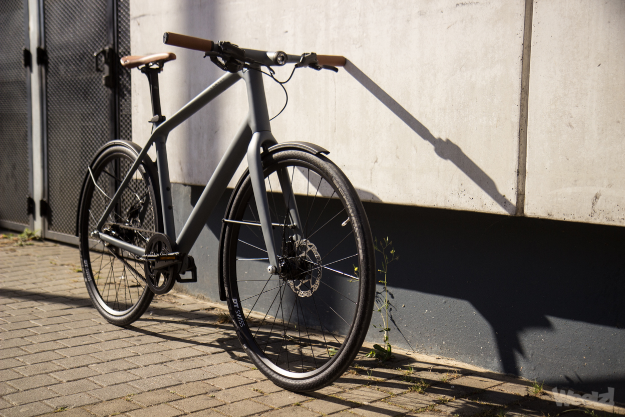 Weelz Test Velo Urbain Canyon Commuter 24