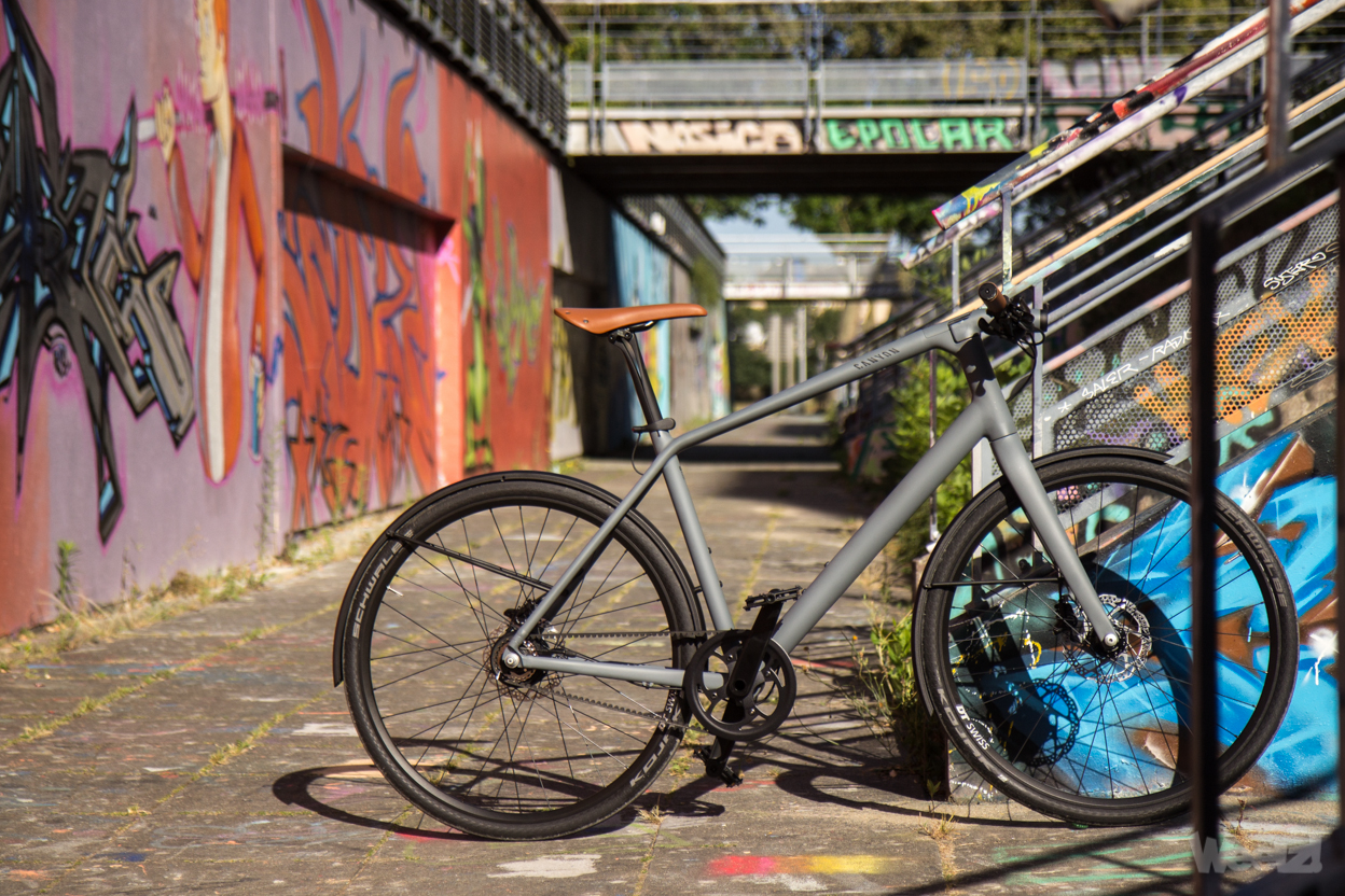 Weelz Test Velo Urbain Canyon Commuter 27