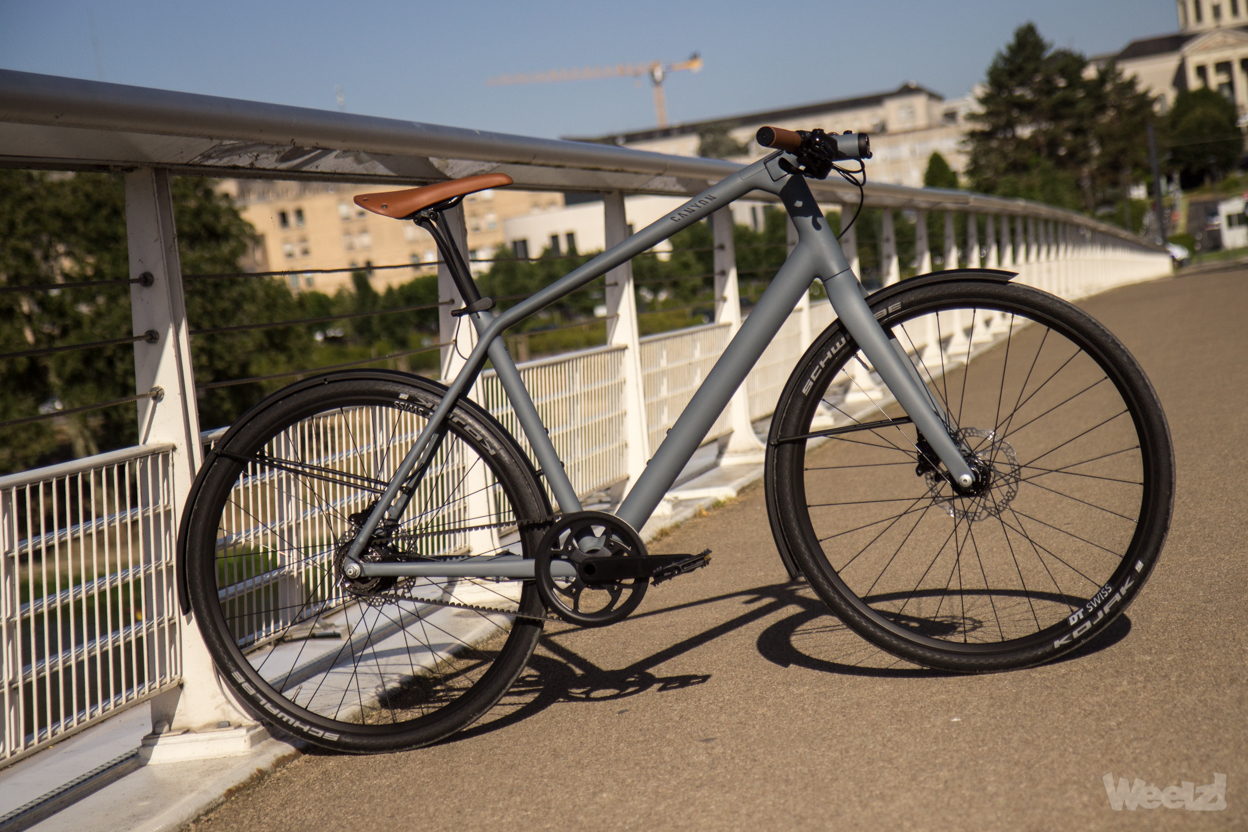 Weelz Test Velo Urbain Canyon Commuter 3
