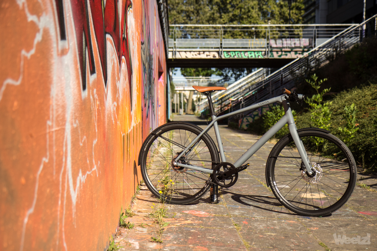 Weelz Test Velo Urbain Canyon Commuter 30