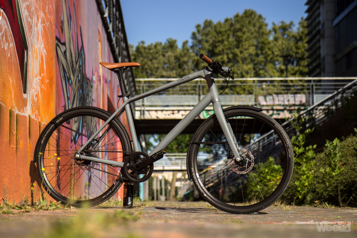 Weelz Test Velo Urbain Canyon Commuter 31