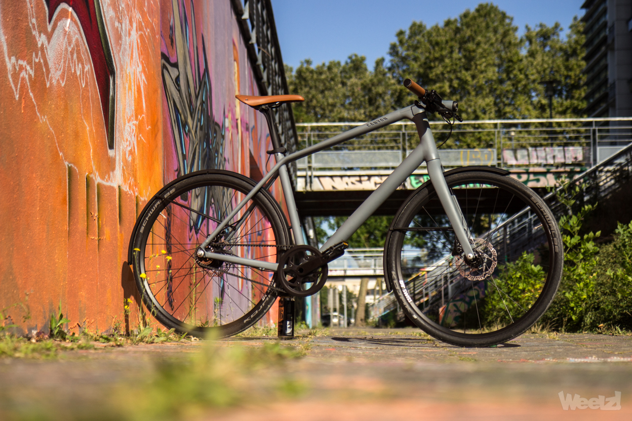 Weelz Test Velo Urbain Canyon Commuter 32