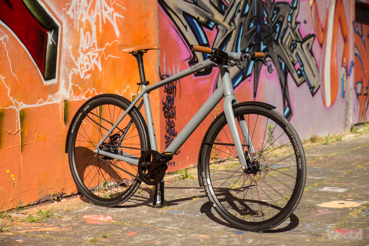 Weelz Test Velo Urbain Canyon Commuter 33