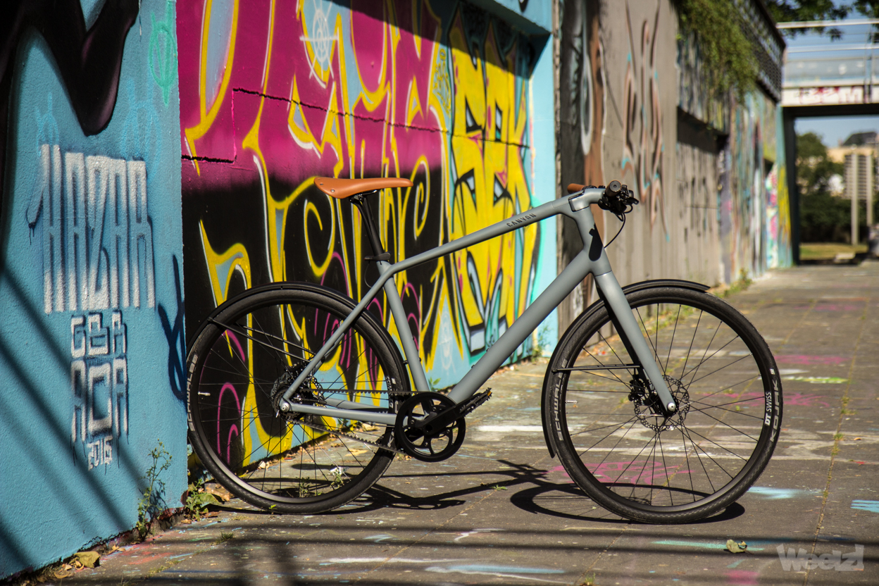 Weelz Test Velo Urbain Canyon Commuter 36