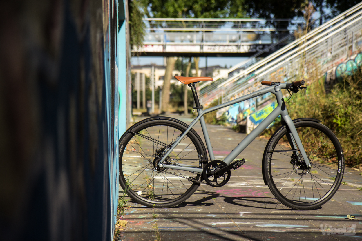 Weelz Test Velo Urbain Canyon Commuter 38