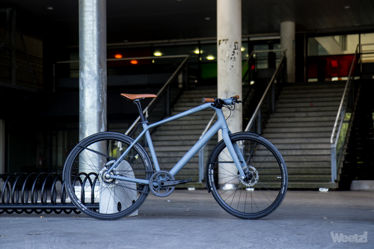 Weelz Test Velo Urbain Canyon Commuter 40