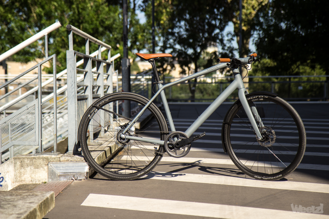 Weelz Test Velo Urbain Canyon Commuter 42