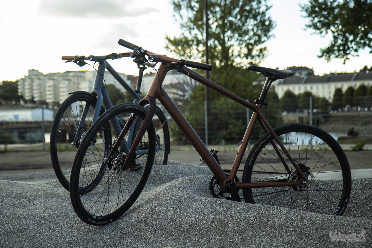 Weelz Test Velo Urbain Canyon Commuter 50