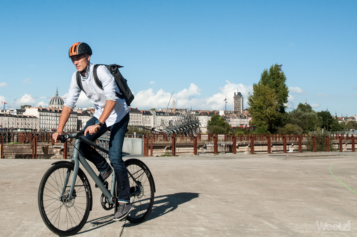 Weelz Test Velo Urbain Canyon Commuter 55