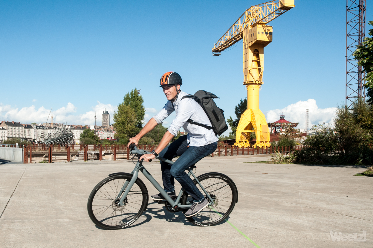 Weelz Test Velo Urbain Canyon Commuter 56