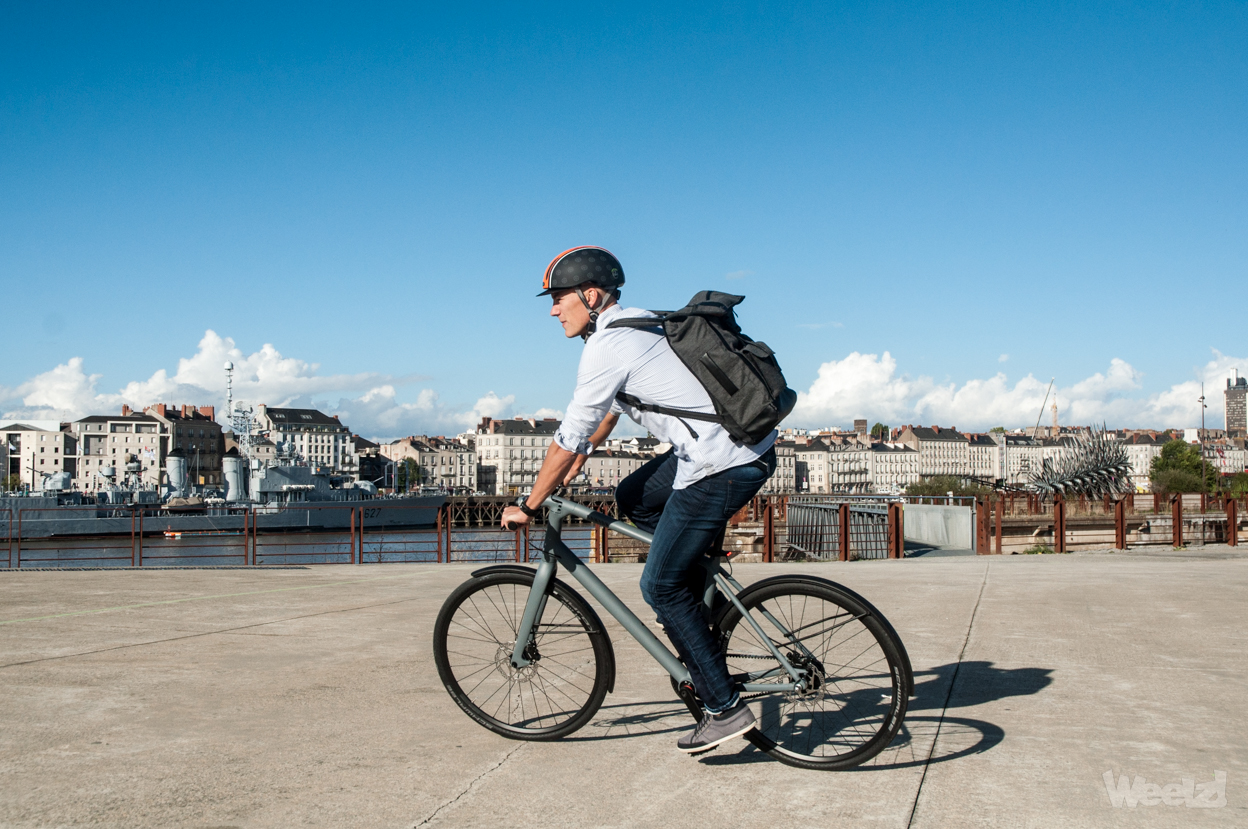 Weelz Test Velo Urbain Canyon Commuter 59