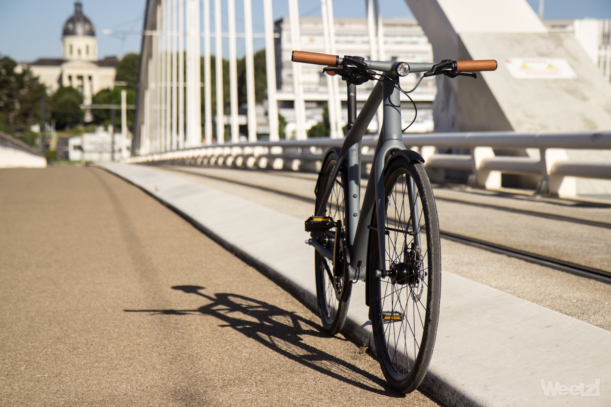 Weelz Test Velo Urbain Canyon Commuter 8