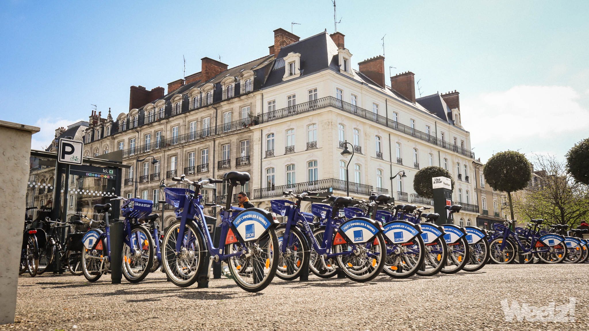 Weelz Rennes Velo Urbain Cycliste In Out Mobilites 3933