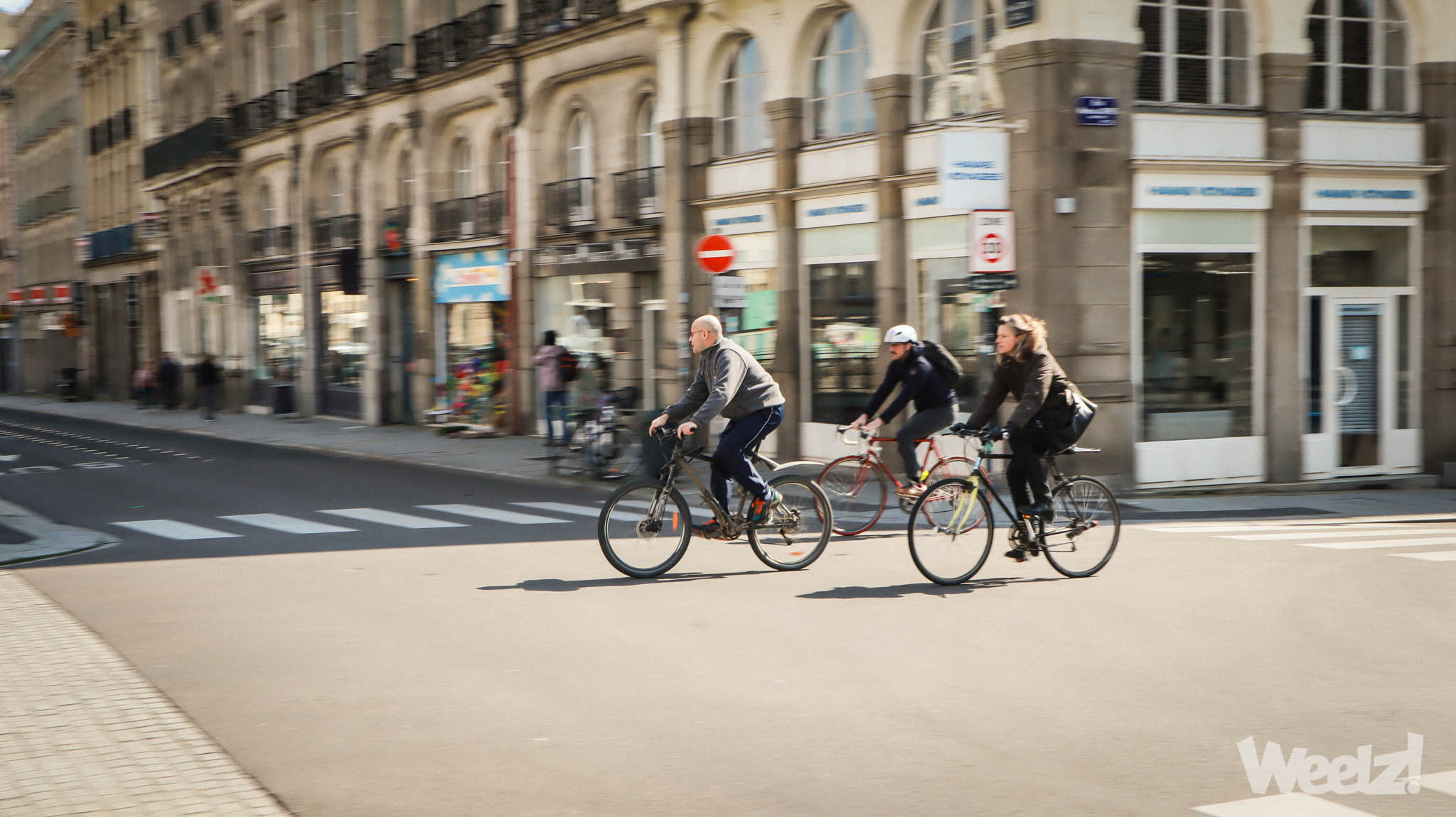 Weelz Rennes Velo Urbain Cycliste In Out Mobilites 3943