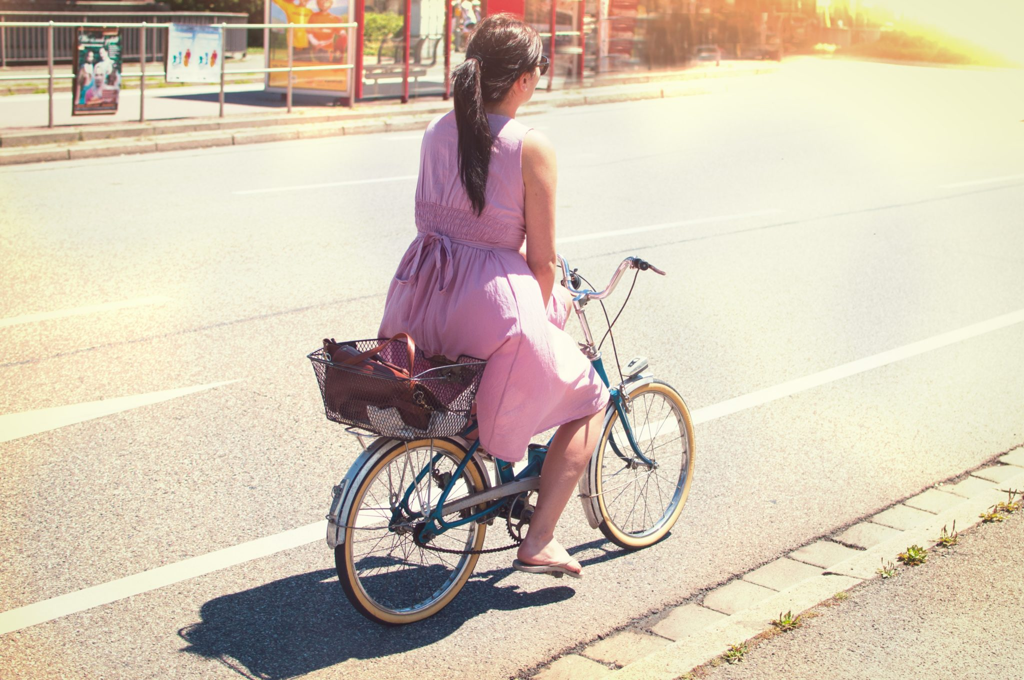 Bicycle Female Person 101647