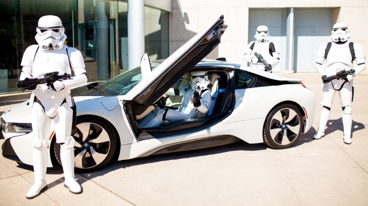 Could The Bmw I8 Be The Official Stormtroopers Car 93623 7