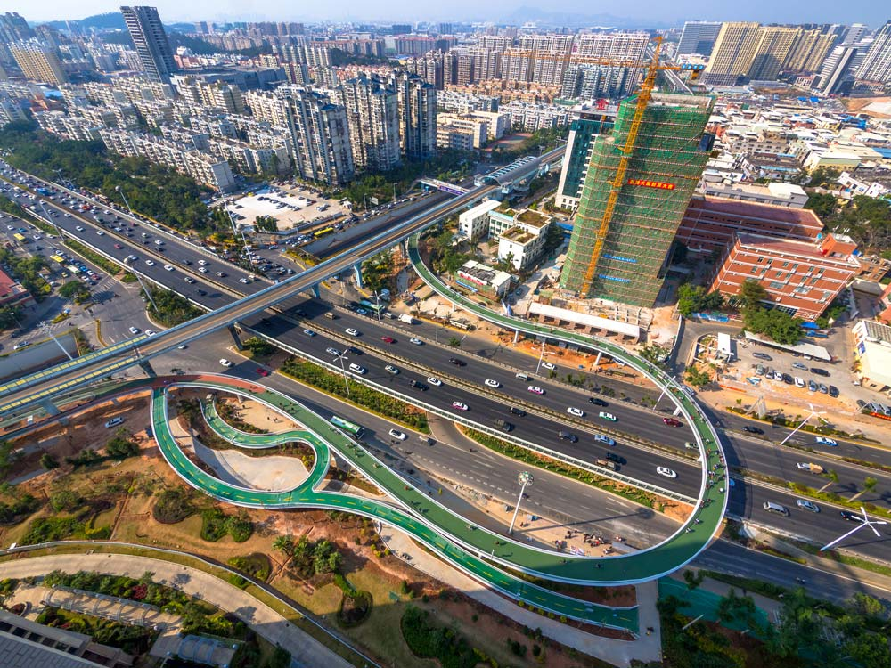 Bab Dissing Weitling Xiamen Bicycle Skyway 01