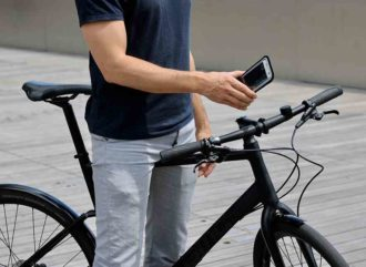 Support smartphone vélo Shapeheart