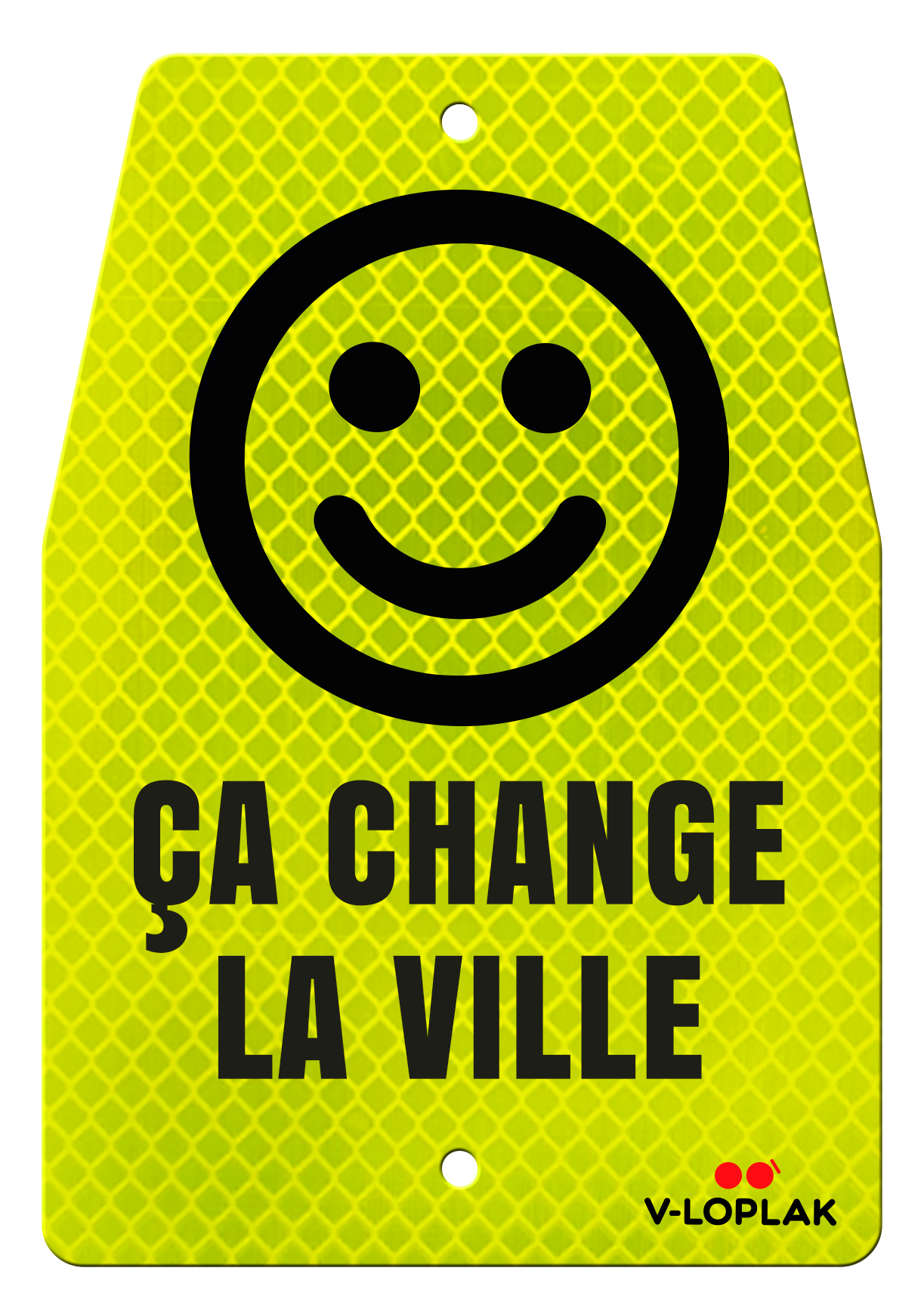 Vloplak Porte Bagage Smiley