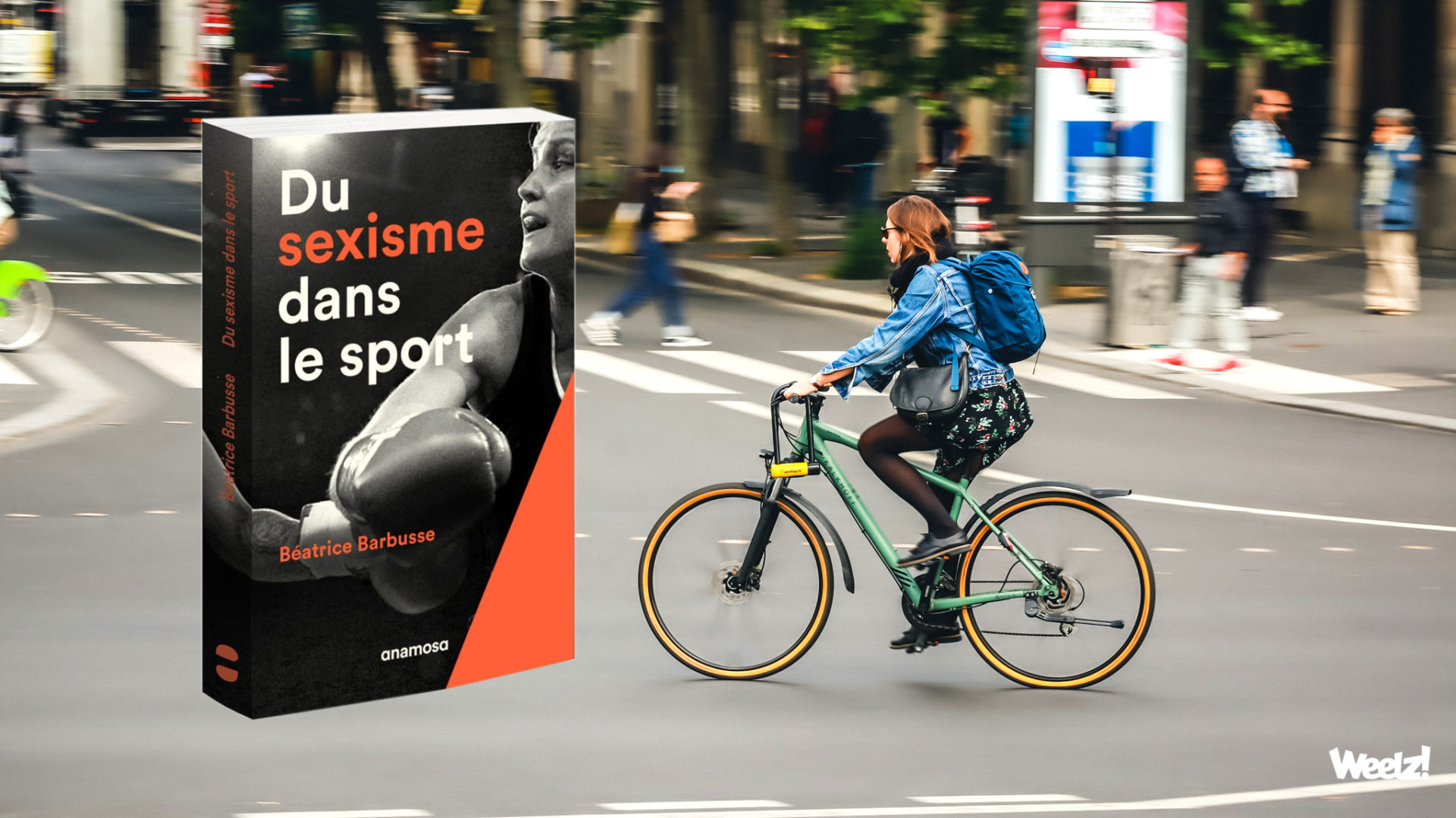 Weelz Velo Cycliste Urbain Paris 2020 4331 Sexisme Transport