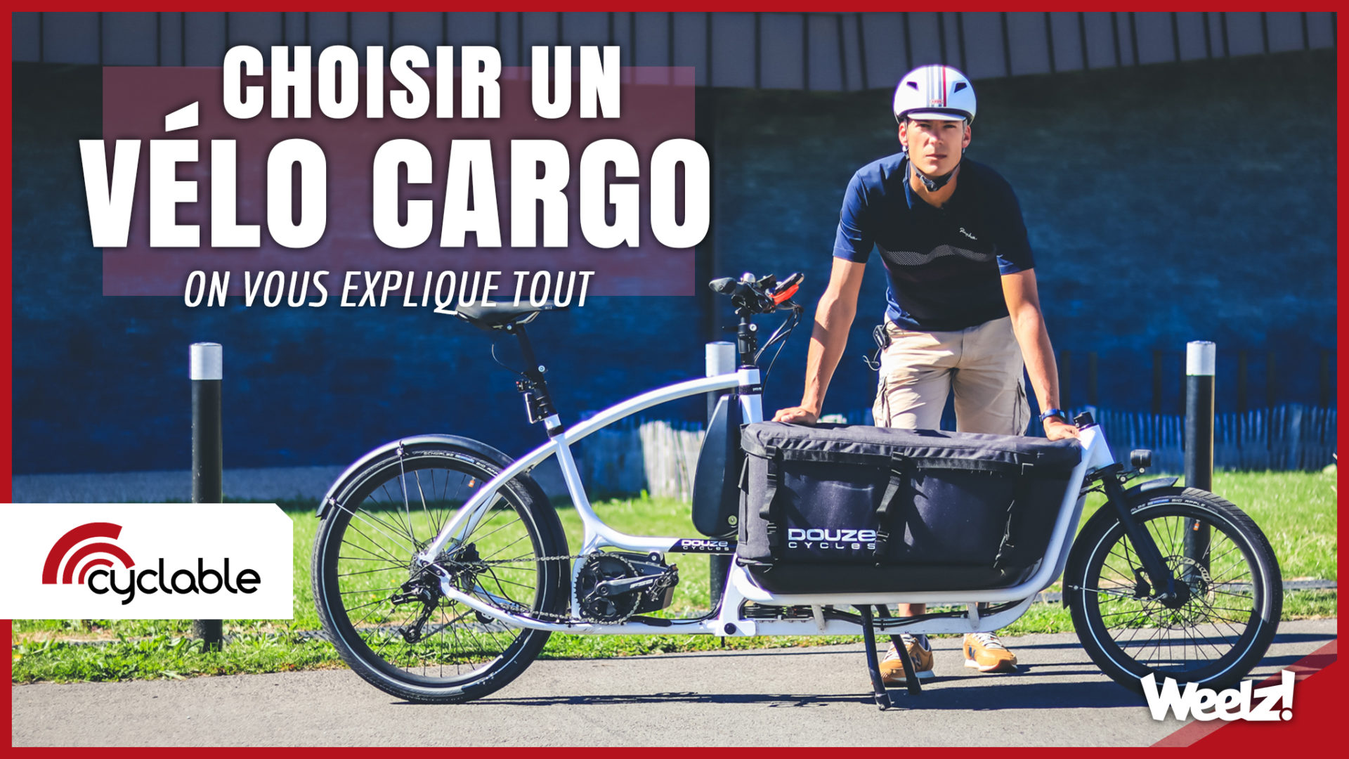 Weelz Video Velo Cargo Cyclable 2020