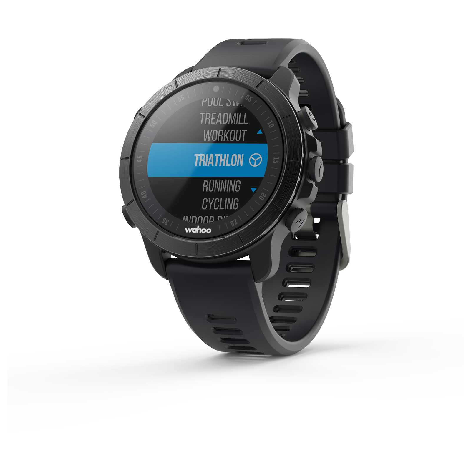 Wahoo Fitness Elemnt Rival Gps Multisports Watch Stealth Grey 11 899788