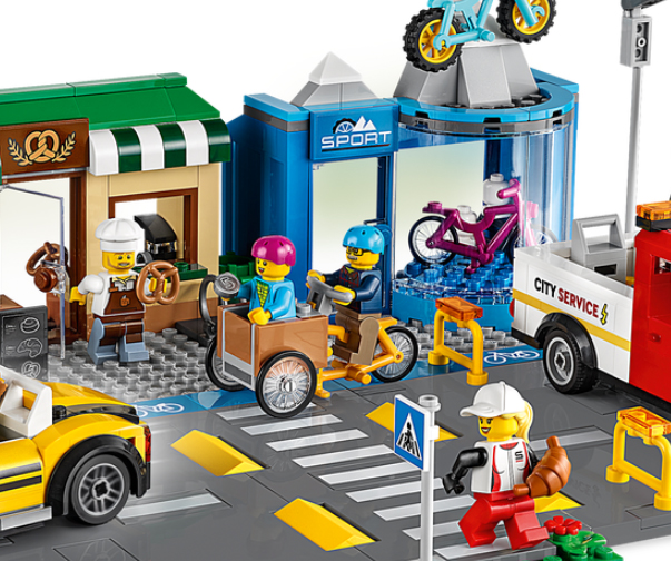 Shopping Street 60306 City Buy Online At The Official Lego 2