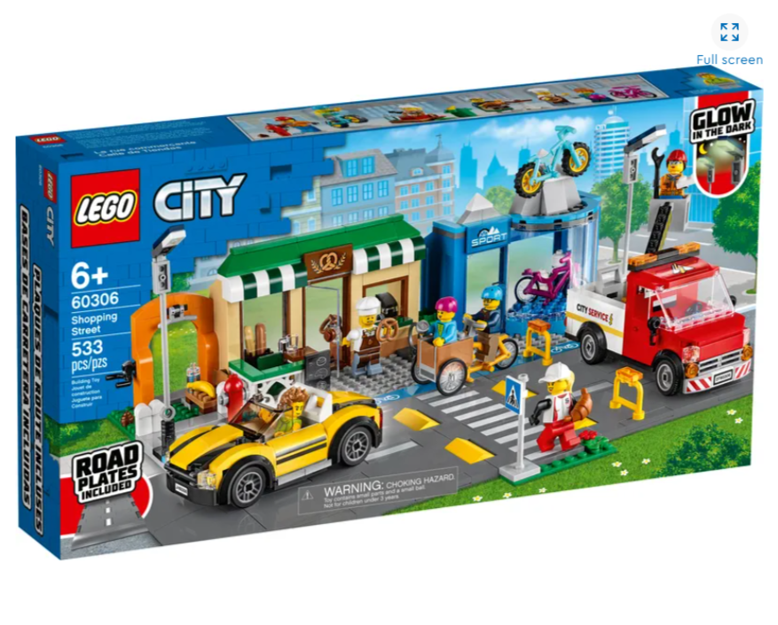 Shopping Street 60306 City Buy Online At The Official Lego